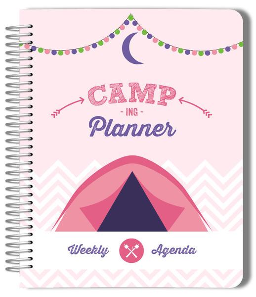 Glam camping custom photo planner for Custom photo planner