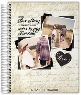 Vintage Love Story Journal