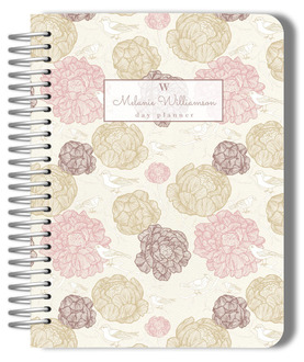 Vintage Blossoms Custom Day Journal