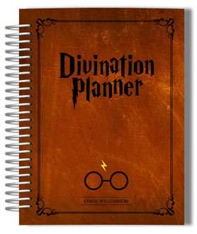 Vintage Rustic Brown Divination Custom Planner
