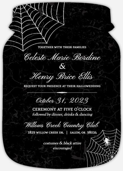 Web invitation for wedding