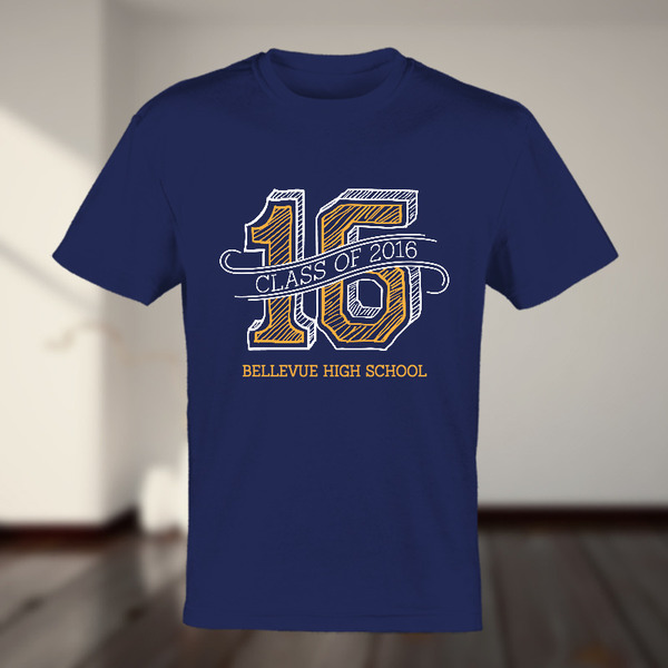 graduating class custom tshirt