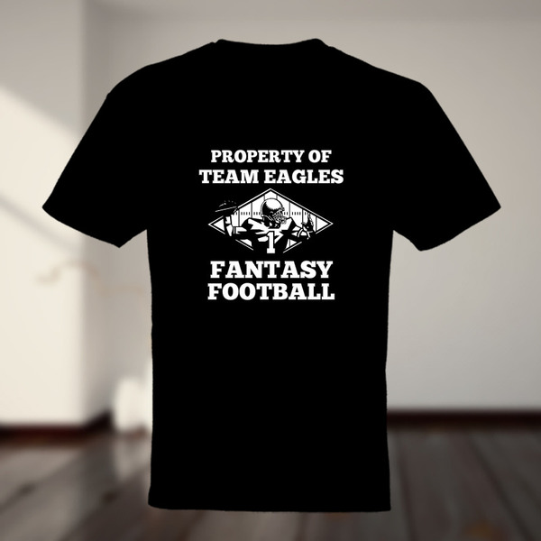 Property of team name fantasy football t shirt custom t for Property of shirt designs