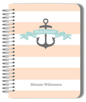 Nautical Anchor Mom Planner