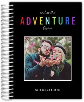 The Adventure Begins Custom Wedding Planner