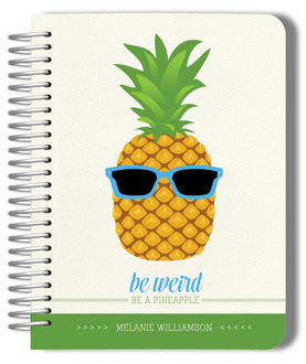Fun Be Weird Pineapple Planner