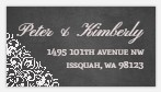 Vintage Decor Chalkboard Custom Address Label