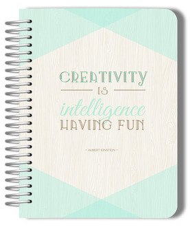 Mint And Rustic Creativitiy Custom Planner